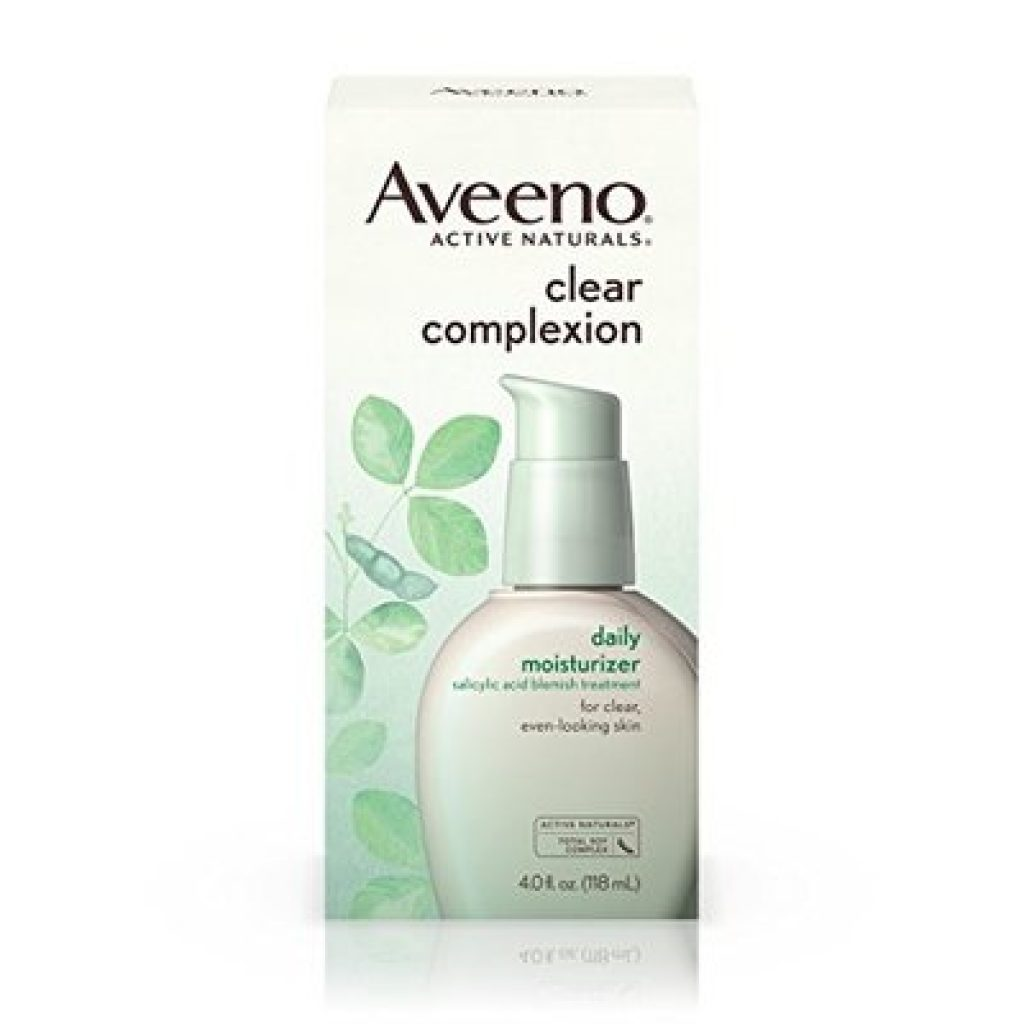 Aveeno Clear Complexion Salicylic Acid Acne-Fighting Daily Face Moisturizer