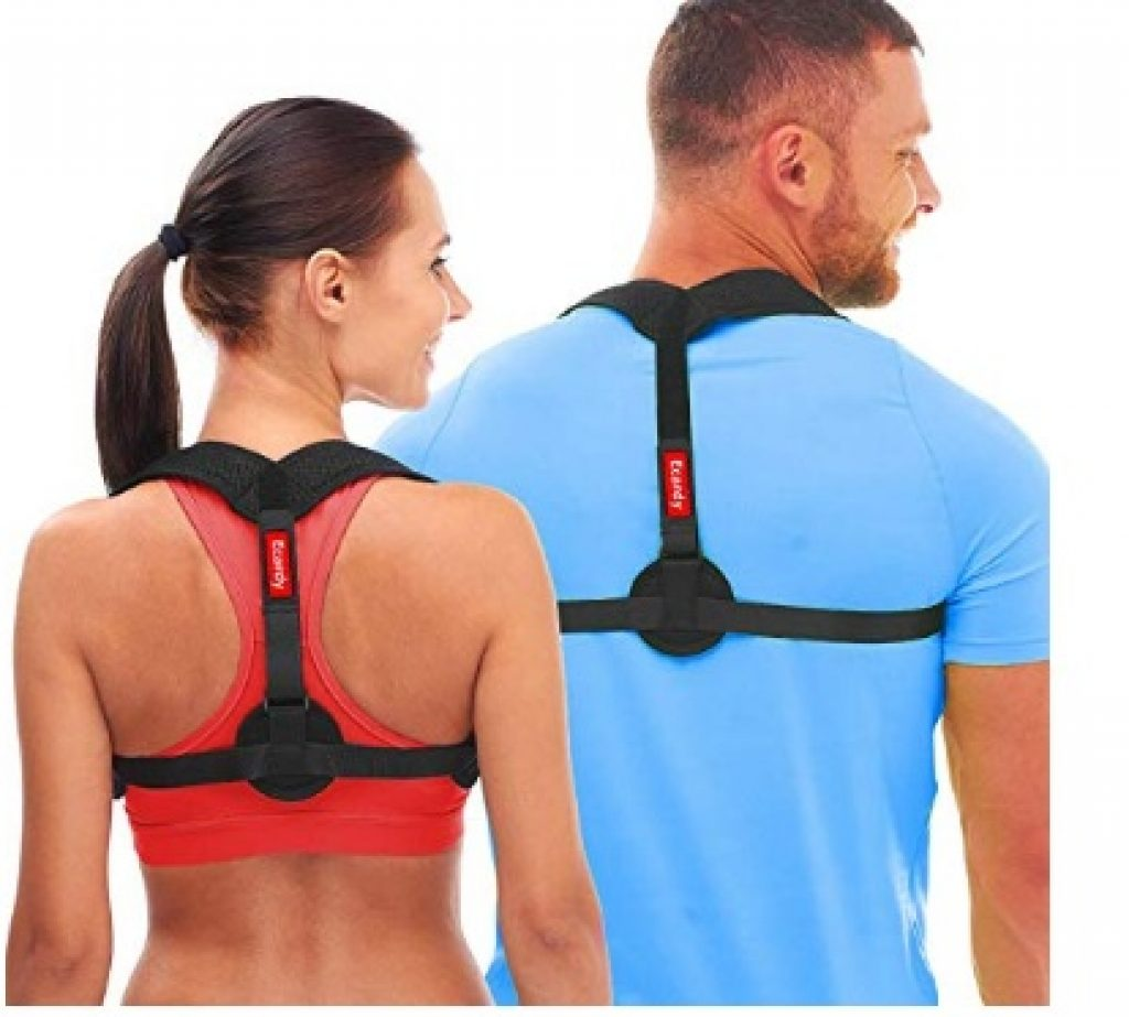 Back Posture Corrector for Women & Men - Effective and Comfortable Posture Brace for Slouching & Hunching - Discreet Design - Clavicle Support