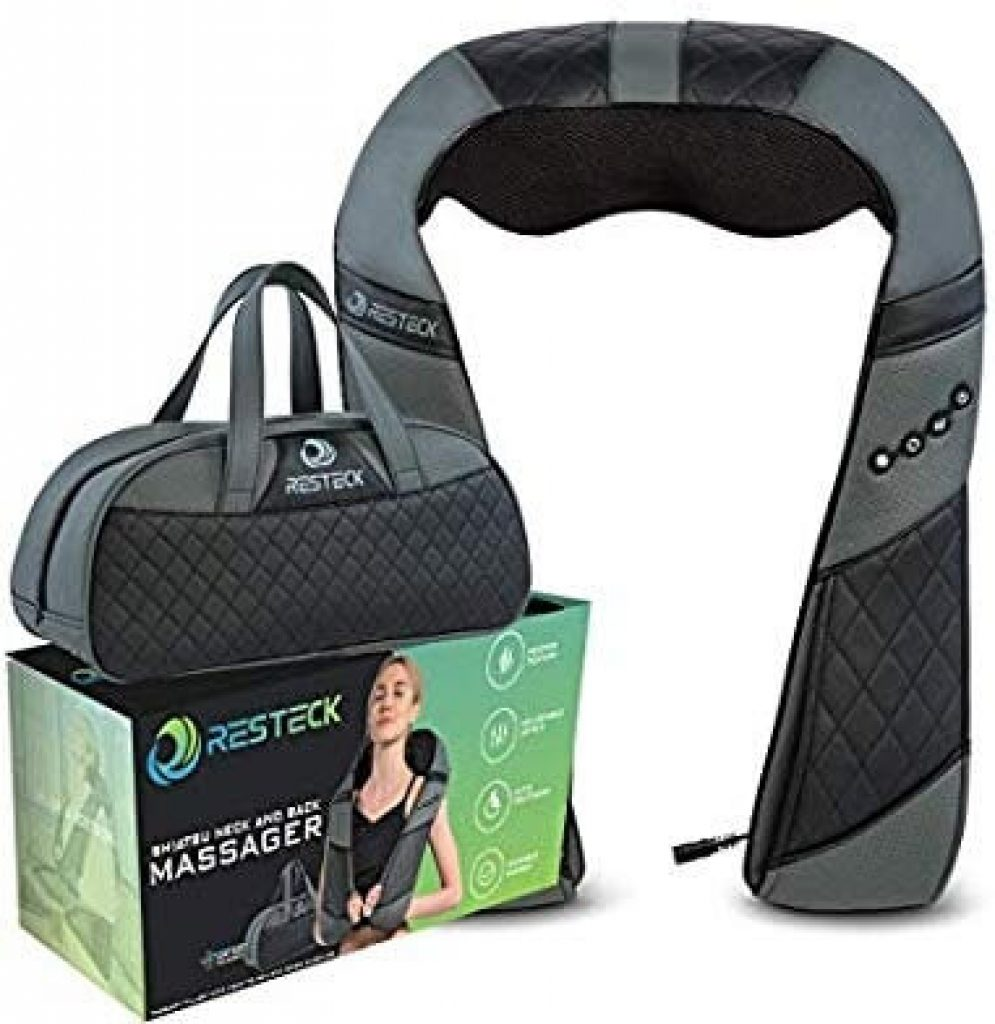 Massagers For Neck And Back With Heat - Deep Tissue 3D Kneading Pillow, Electric Shiatsu Back Neck And Shoulder