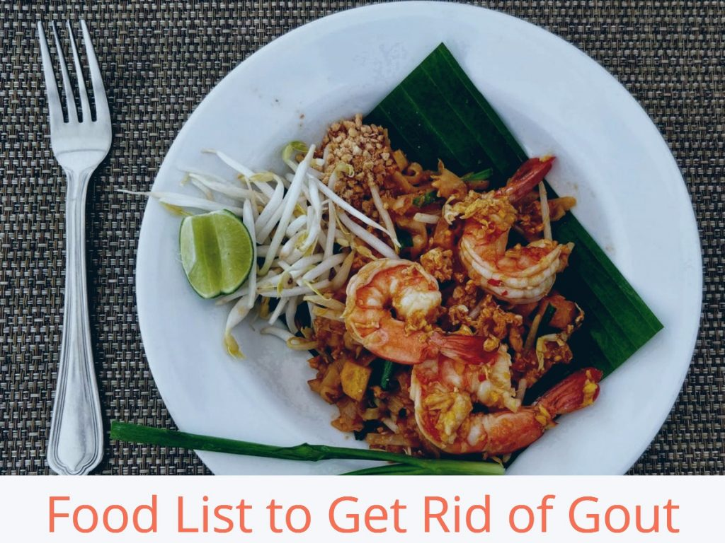 Food List To Get Rid Of Gout