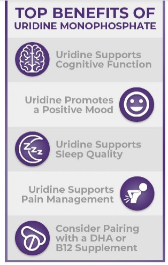 uridine monophosphate benefits-uridine benefits